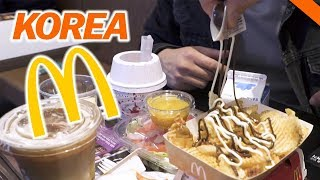 EATING AT KOREAN McDONALD'S IN SEOUL // Fung Bros World Tour width=