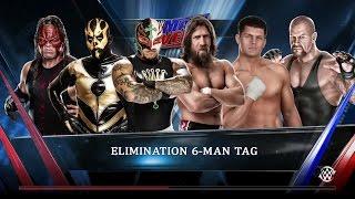 getlinkyoutube.com-WWE 2K15 - Rey Mysterio, Kane & Goldust vs Daniel Bryan, Undertaker & Cody Rhodes
