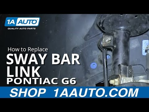 How to Replace Sway Bar Link 05-10 Pontiac G6