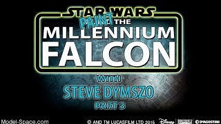 getlinkyoutube.com-Part 3 - Painting the De Agostini Millennium Falcon Scale Model with Steve Dymszo