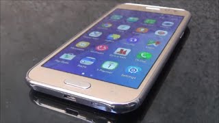 getlinkyoutube.com-Samsung Galaxy J2 4G Gold Full Review and Unboxing