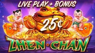 getlinkyoutube.com-25¢ ZHEN CHAN SLOT *NEW* LIVE PLAY + SLOT BONUS - Slot Machine Bonus