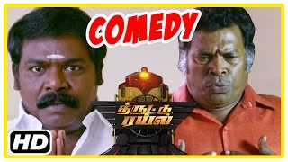 getlinkyoutube.com-Thiruttu Rail Tamil movie | Comedy scenes | Rakshan | Kethi | Sentrayan | Imman Annachi | Mayilsamy
