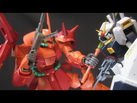 MG Marasai (Part 4: MS) Zeta Gundam Titans Gunpla model review