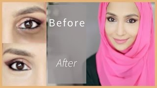 getlinkyoutube.com-HOW TO CONCEAL DARK CIRCLES! From light to severe! | Amena