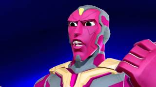 getlinkyoutube.com-Disney Infinity 3.0 Marvel Battlegrounds - Story Part 1: Brooklyn as Vision