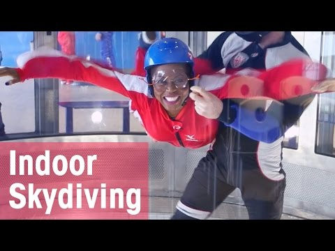 Indoor Skydiving Adventure (First Time!) | CBC Life