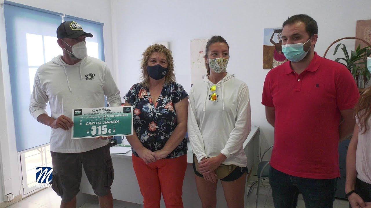 El Reto a Nado Solidario recauda 315 euros para Manilva