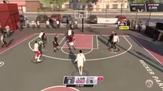 getlinkyoutube.com-NBA Live 16 - LiveRun 5 vs 5 Rucker Park w/@mxevideos | 4 Human Players (Online Gameplay)
