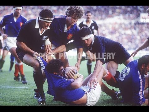 1986 Rugby Test: France vs New Zealand All Blacks (2nd Test)