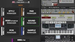 getlinkyoutube.com-Merging KORG PA Arranger Styles & Sounds from different SETs - Korg PA Manager Software (Version 2)