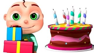 getlinkyoutube.com-Happy Birthday Song And Many More | Nursery Rhymes Collection | 3D Animation Kids Songs