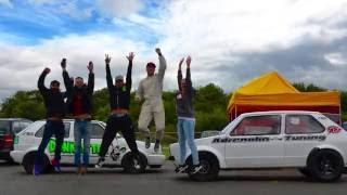 getlinkyoutube.com-Donkey Tec 8.474 @ 167.91 Worlds Fastest Mk2 Golf 1100HP+ VW Action 2016