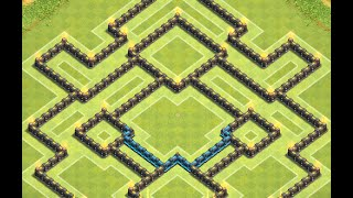 getlinkyoutube.com-Clash of Clans: NEW Townhall 10 Farming Base ll Early March 2015 Edition