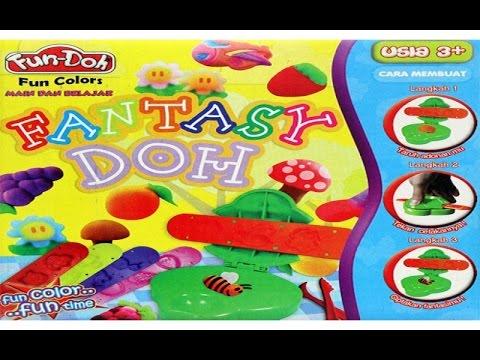 FUN DOH - Fantasy Doh   mainan edukasi anak dari lilin mainan
