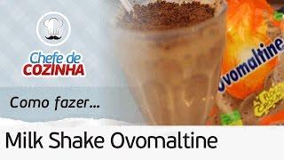 getlinkyoutube.com-Como fazer Milk Shake de Ovomaltine do Bobs (Versão do Chef)   Por: Chef Alex Granig