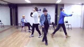 getlinkyoutube.com-BTS - Just one Day - mirrored dance practice video - 방탄소년단 하루만 (Bangtan Boys)