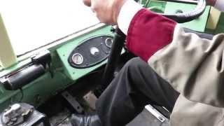 getlinkyoutube.com-In the cab - Newcastle trolleybus 628 (NBB 628)