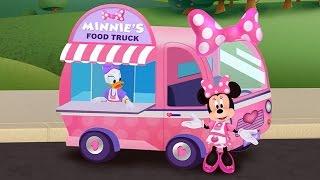 getlinkyoutube.com-Minnie's Food Truck Part 1 - Minnie Mouse & Daisy Duck - iPad app demo for kids - Ellie