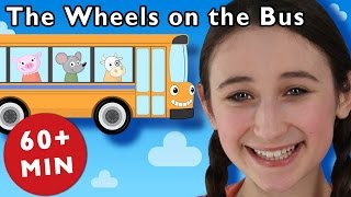 getlinkyoutube.com-B Is for Bus | The Wheels on the Bus and More | Nursery Rhymes from Mother Goose Club!