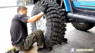 "Maxxis 4x4 Club Malaysia-Tyre change 40"" Trepador Competition"