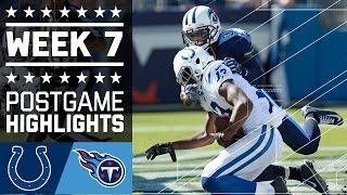 getlinkyoutube.com-Colts vs. Titans (Week 7) | Game Highlights | NFL