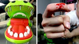 getlinkyoutube.com-EXTREME CROCODILE DENTIST ft. NAILS (BLOOD ALERT)