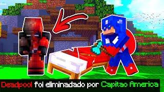 Minecraft: BED WARS HERÓIS #2 - QUEBREI A CAMA DO DEADPOOL!