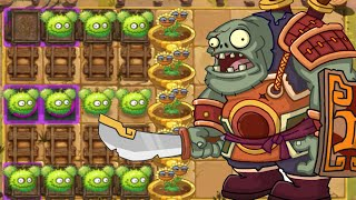getlinkyoutube.com-Plants Vs Zombies 2: New Plants Chestnut Squad Vs Zomboss