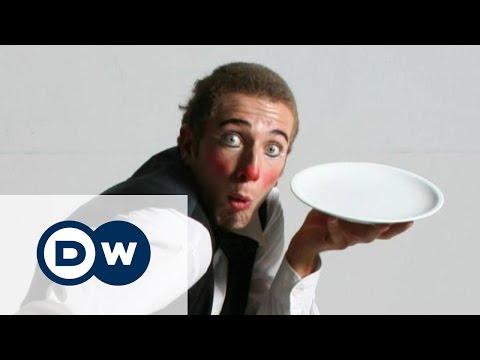 Немецкий клоун в Cirque du Soleil