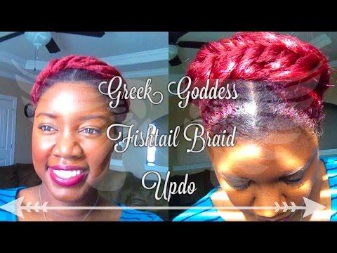 Greek Goddess Crown Braid Tutorial | Protective Style