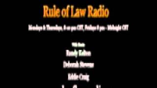 getlinkyoutube.com-Rule of Law Radio with Hosts Randy Kelton, Deborah Steven & Eddie Craig 9/20/2012