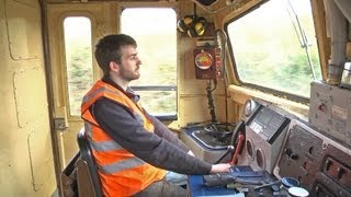 getlinkyoutube.com-Cab Ride - Inch Abbey to Downpatrick - A39 Diesel Locomotive