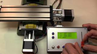 getlinkyoutube.com-Proxxon MF 70 CNC milling machine with digital readout for manual control