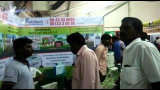 getlinkyoutube.com-Mobitech Wireless Solution stall at Pasumai Vikatan's Agri Expo Trichy 2016, Tamilnadu