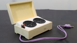 How to Make Mini Portable Speakers width=