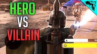 Battlefront Heroes vs Villains Multiplayer Gameplay & Hero Hunt Gameplay - ALL HEROS!
