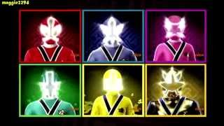getlinkyoutube.com-Team up - Power Rangers Samurai vs Power Rangers Megaforce