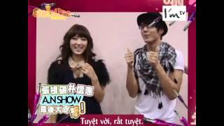 getlinkyoutube.com-[Vietsub ShinHye's house]George Hu visits Park Shin Hye - A.N.Show in Taiwan