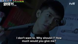 A Korean Odyssey(hwayugi 화유기 )- Son oh-gong singing and fighting an evil spirit[Eng sub] width=