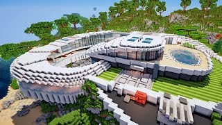 Stunning Maison Moderne De Luxe Minecraft Pictures - Awesome ...