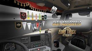 Euro Truck Simulator 2 - Vezetőfülke kiegészítők DLC