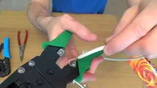getlinkyoutube.com-RJ45 Crimp Tool Review, the difference between a cheap £2 and expensive £25 Tool