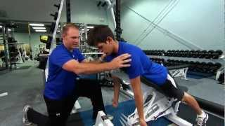 getlinkyoutube.com-Exercises - Scapular Stabilization Series by Ignite Performance Training (2 of 2)