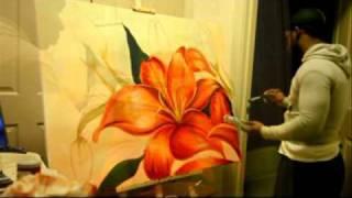 "getlinkyoutube.com-My first love ""Painting"""