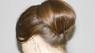 getlinkyoutube.com-Recogido Vintage, Elegante y Fácil - media melena y cabello largo -