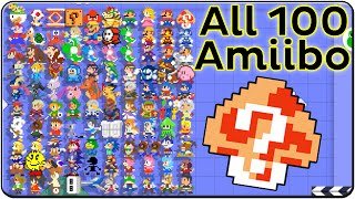 getlinkyoutube.com-Super Mario Maker All Amiibo Costumes (Death & Victory Themes)