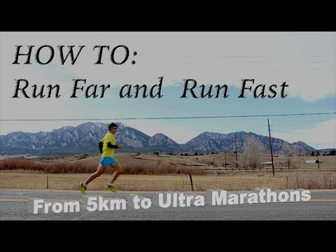 How to run faster and improve endurance: Training for Wings of Life World Run with Sage Canaday