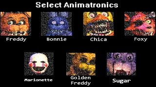 "getlinkyoutube.com-The Return To Freddy's Simulator ""All Animatronics"""