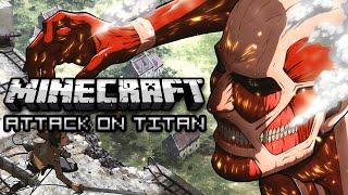 getlinkyoutube.com-Minecraft: ATTACK ON TITAN HIDE & SEEK w/ Friends